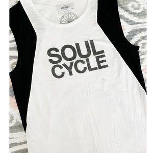 Soul Cycle Mesh Tank